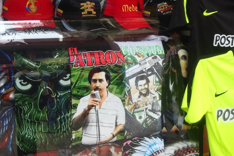 Camisetas de Pablo Escobar: alegria dos turistas, horror dos paisas