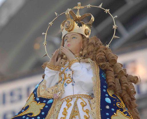Estátua da Virgem de Caacupé
