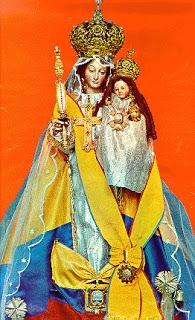 Imagem da Nossa Senhora de Quinche