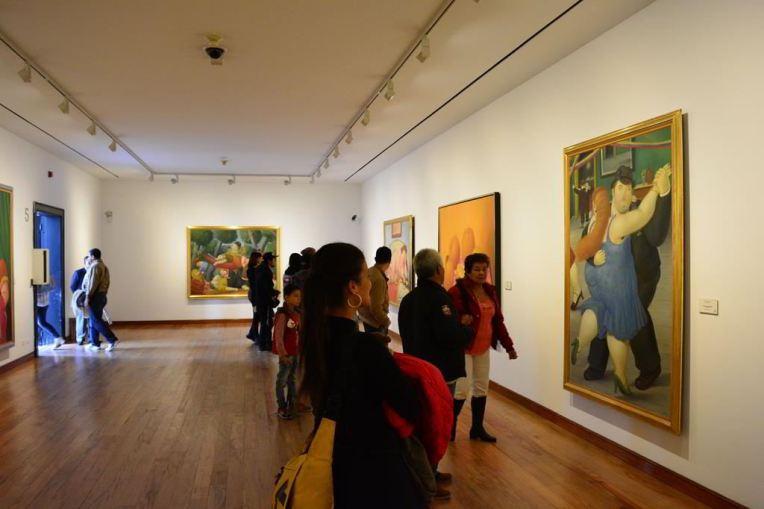Museu Botero, em Bogotá.