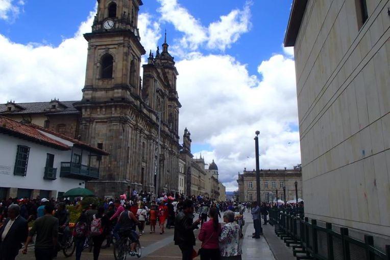La Candelária, o centro de Bogotá