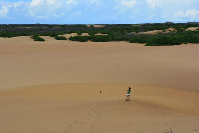 As dunas do Parque Nacional Médanos de Coro