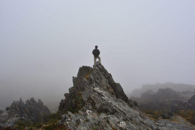 Pico el Águila, infelizmente sem neve!