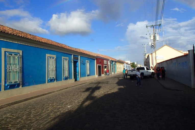 Casas coloniais do centro de Coro