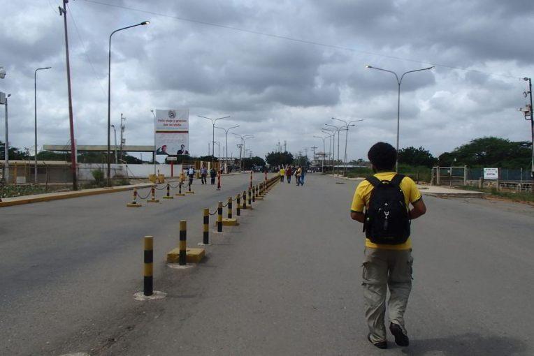 Fronteira de Paraguachón, entre Venezuela e Colômbia