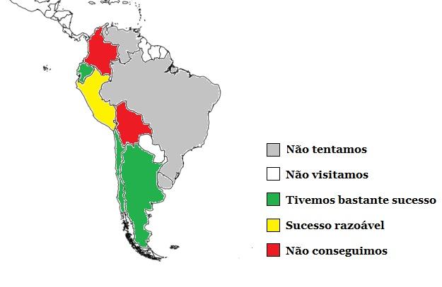 Dificuldade de viajar de carona pela América do Sul - nossas impressões