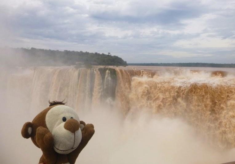 Mucuvinha nas Cataratas do Iguazu, Argentina