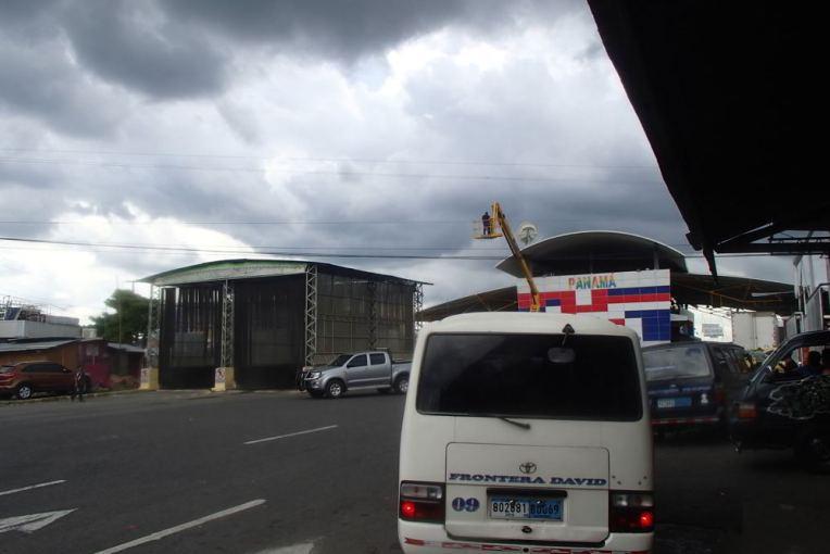 Fronteira Panamá - Costa Rica de Paso Canoas
