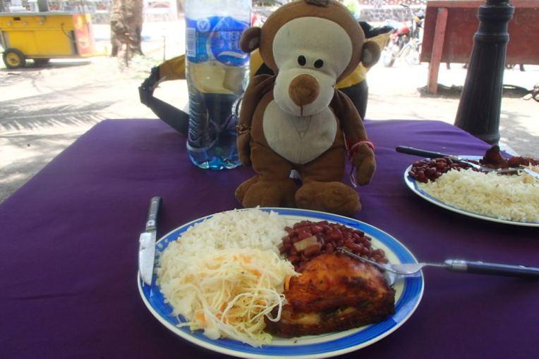 Comida típica em Altagracia, Ometepe