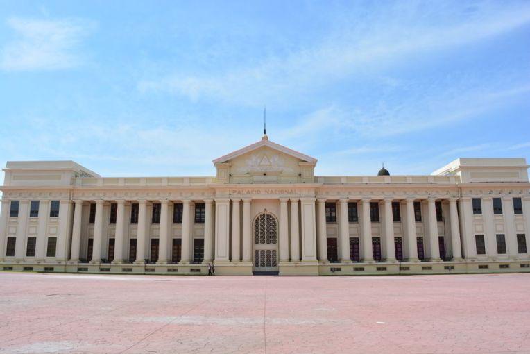 Antigo Palácio do Governo e atual Palácio da Cultura em Manágua.