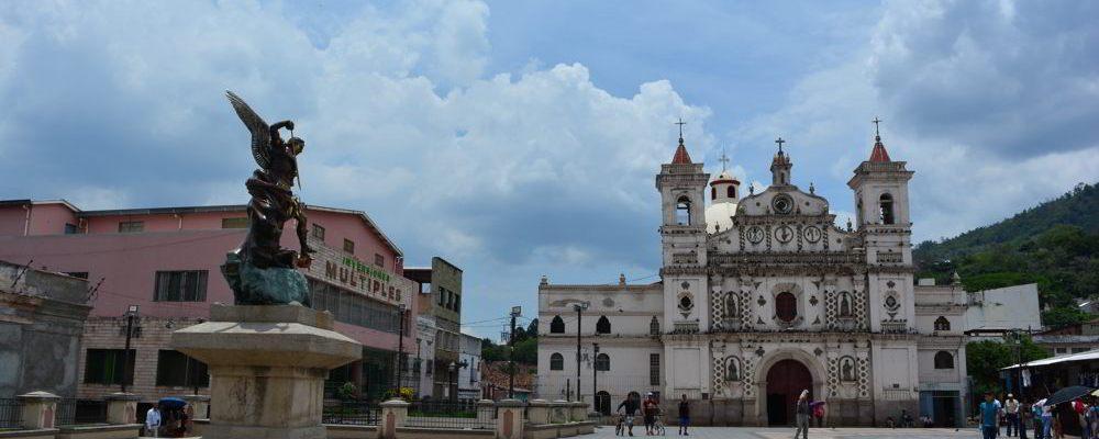 Igreja do Calvário, no Centro Histórico de Tegucigalpa