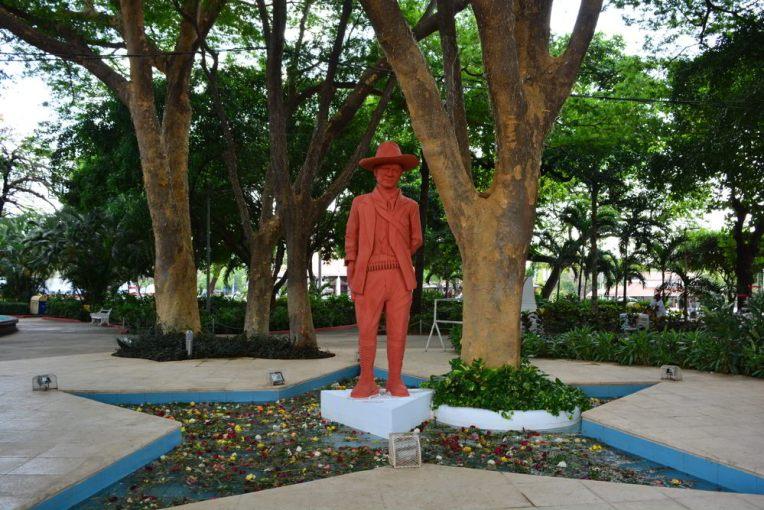 Estátua de Sandino em Manágua