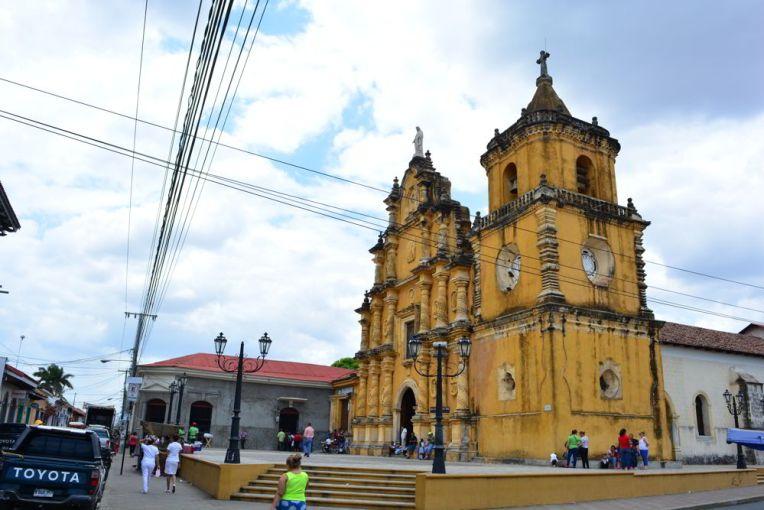 Iglesia la Recolección, León, Nicarágua