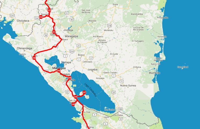 Mochilão pela Nicarágua