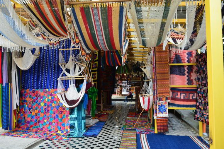 Artesanatos em Panajachel
