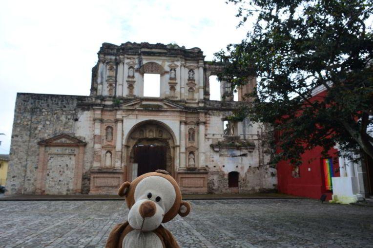 Ruínas em Antígua Guatemala