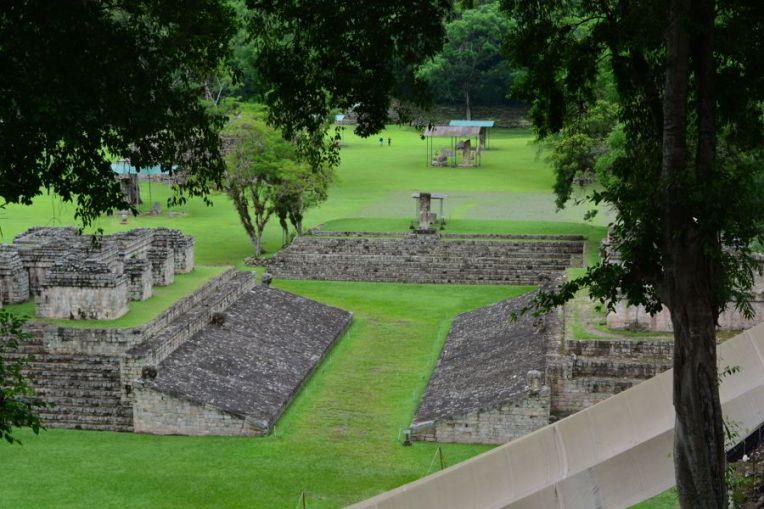 Campo de Bola, em Copán