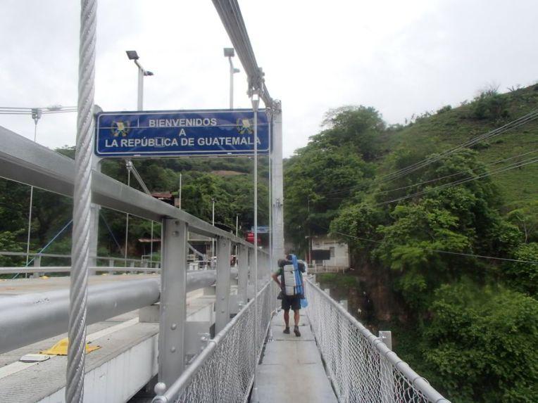 Fronteira entre El Salvador e Guatemala
