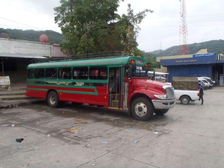 Chicken bus na Guatemala