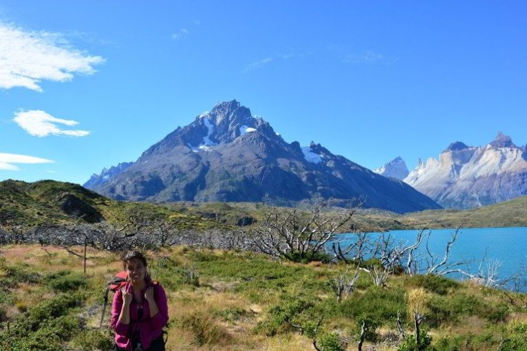 Trilha em Torres del Paine