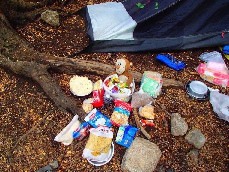 Comidas que levamos para Torres del Paine