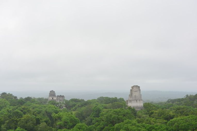 Tikal vista de cima do Templo IV