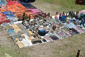 Artesanatos em Palenque