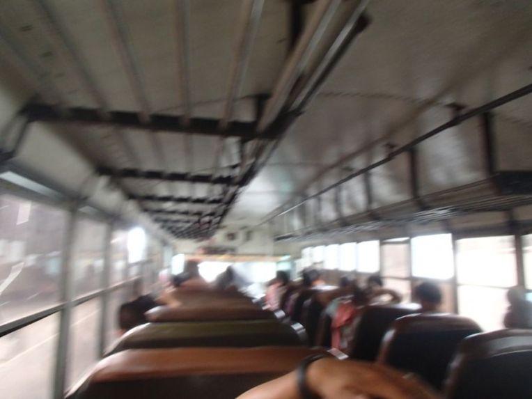 Ônibus típico de El Salvador