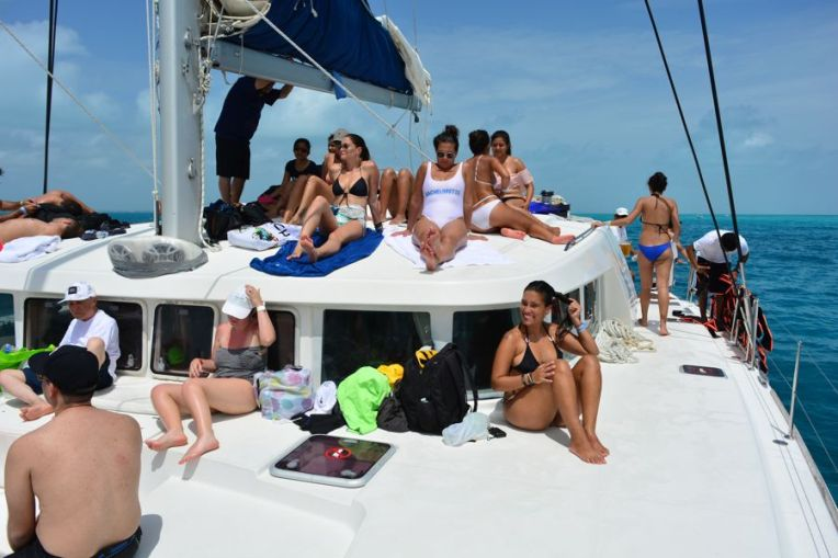 Catamarã Isla Mujeres