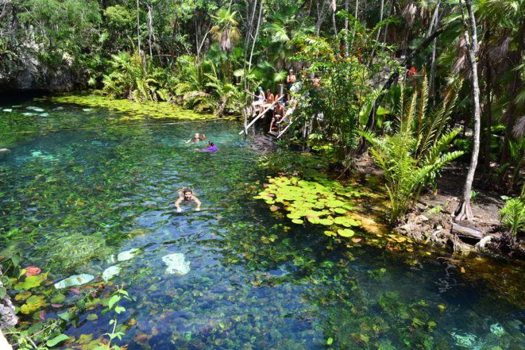 Cenote Nicte Ha, México
