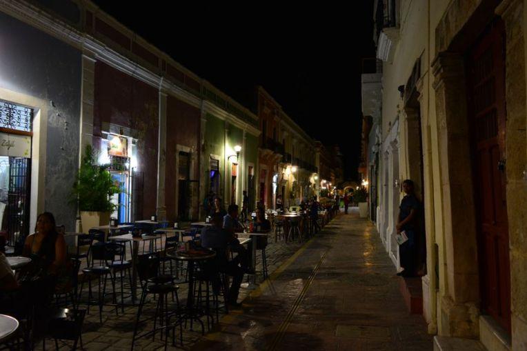Noite na calle 59, Campeche