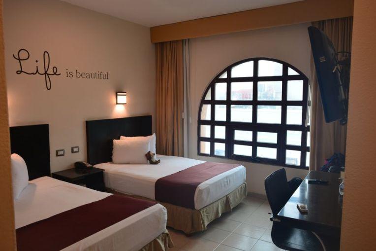 Quarto no Hotel Colonial, Mérida