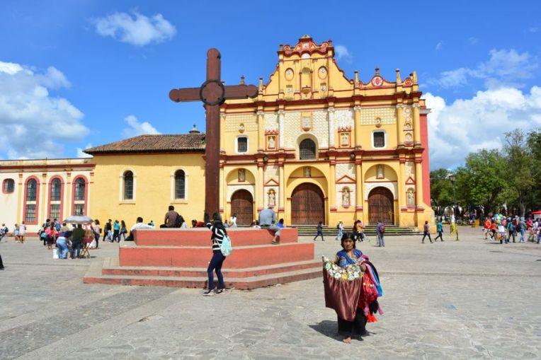 Igreja central de San Cristóbal de las Casas