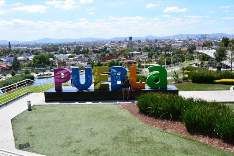 Vista panorâmica de Puebla