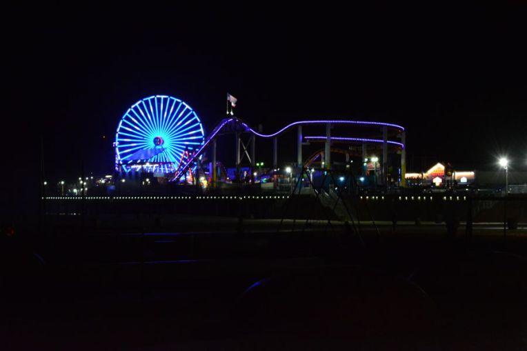 Roda Gigante de Santa Monica, Los Angeles
