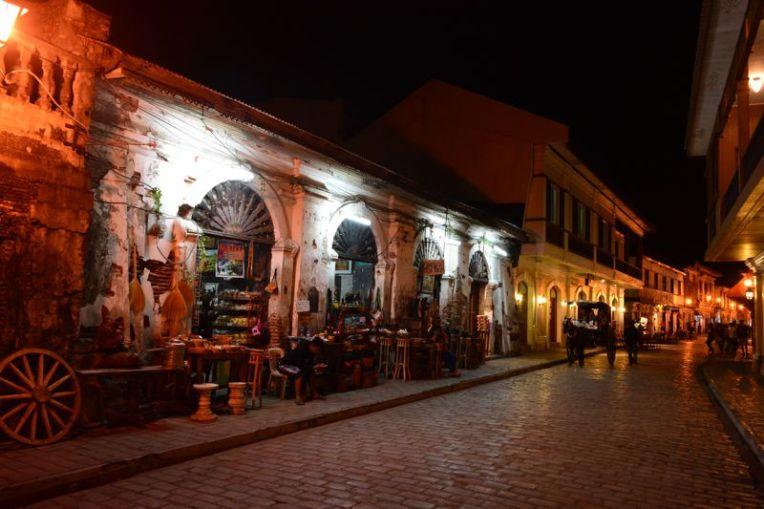 Rua Crislogo, Vigan, Filipinas