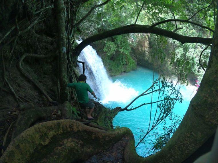 Cachoeira de Kawasan, Filipinas