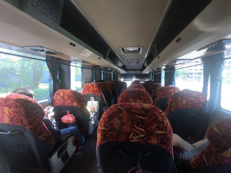 Ônibus de Kuala Lumpur a Johor Bahru