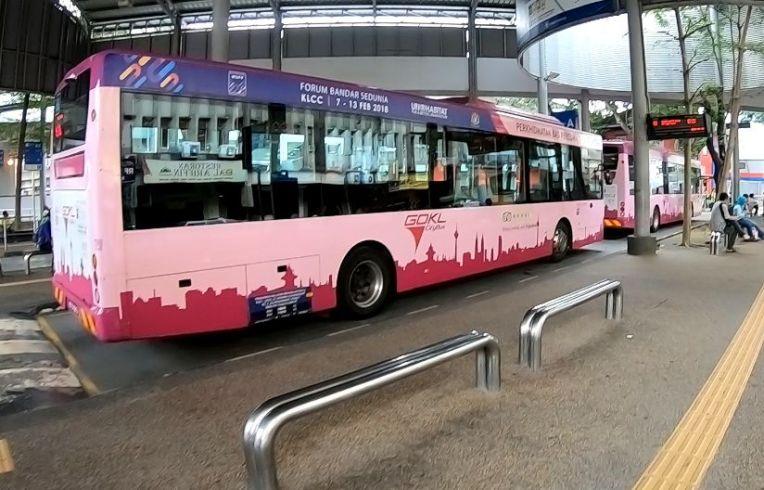 Ônibus gratuitos da Go KL