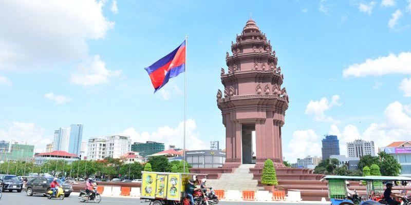 Monumento da Independência - Phnom Penh