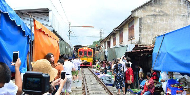 Mercado de Maeklong
