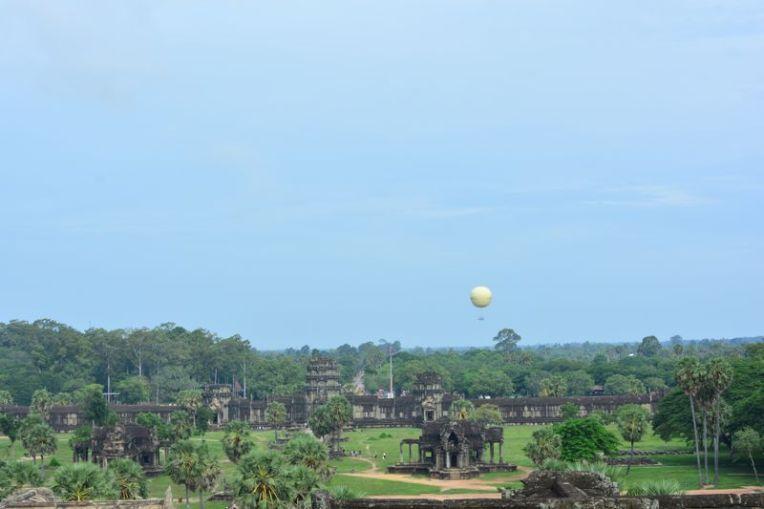 Balão em Angkor Wat