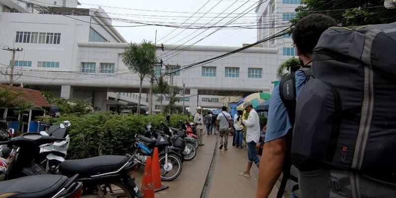 Fronteira Camboja - Tailândia