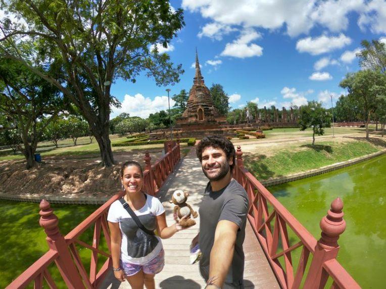 Ruínas de Sukhothai