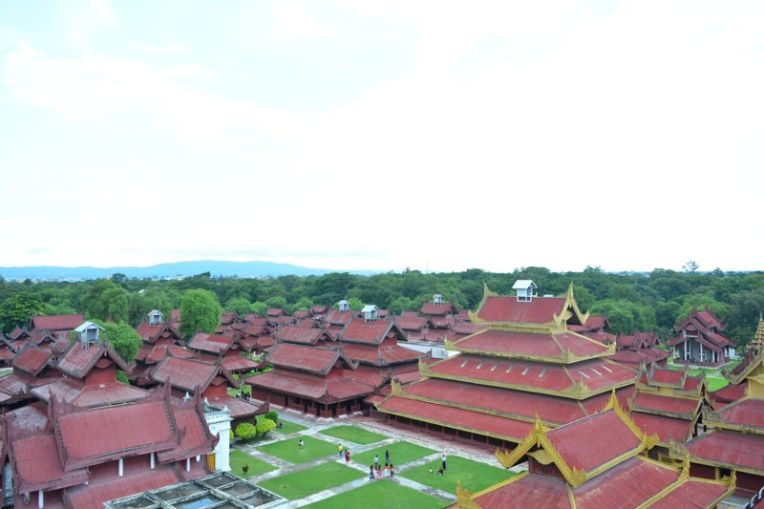 Palácio real de Mandalay