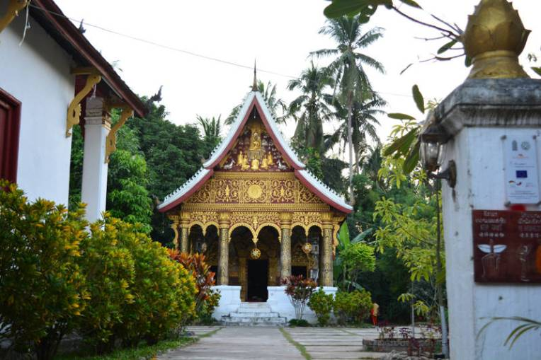 Templo budista em Luang Prabang