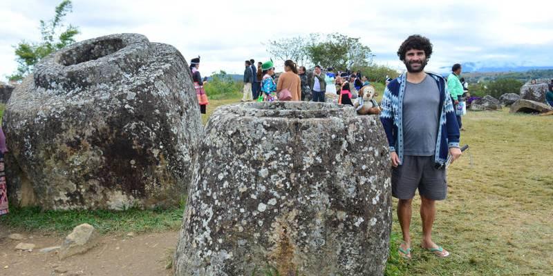 Vasos Gigantes de Phonsavan