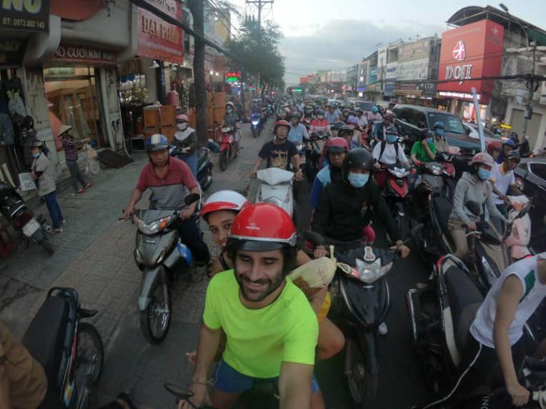 Trânsito de Ho Chi Minh