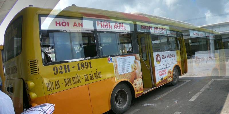 Ônibus que leva de Da Nang a Hoi An