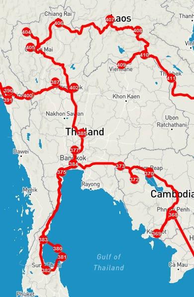 Mochilão Tailândia